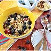 Detoxifierea: Episodul IV - Quinoa cu fructe si miere & Pastrav en papillote cu legume