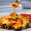 Ravioli cu sunca, ciuperci si mozzarella al forno