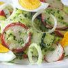 Salata de cartofi cu sos verde