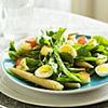 Salata de spanac si oua de prepelita