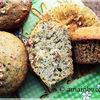 Muffins cu mac si migdale