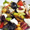 Salata de pui si legume la gratar & vinegreta cu mustar