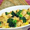 Frittata cu piept de curcan si broccoli  reteta dietetica