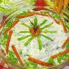 Salata cu varza noua si pui