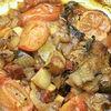 Tocanita din carne de pui si legume