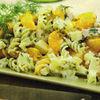 Salata de paste cu pui si mandarine