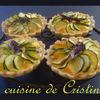 Mini tartelette courgette et basilic - Tarte cu dovlecei si busuioc