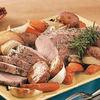 Friptura de porc cu garnitura de legume