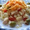 Salata de paste cu morcovi
