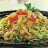Spaghete cu sos alb