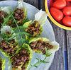 Salad wraps cu vita, ghimbir si chili