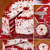 Red Velvet Cake / Tort Catifea Rosie