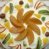 Tort  racoritor cu fructe si ciocolata