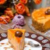 Cheesecake cu dovleac copt, ghimbir si aroma de portocala