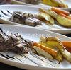 Muschi de porc umplut cu gorgonzola si prosciutto