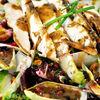 Salata cu pui, andive, rodie & dressing cu mustar si miere