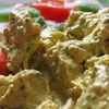 Salata cu pui in sos curry