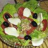 Salata de fasole cu mozzarella