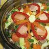 Salata cu muraturi si pastrav afumat