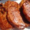 Cotlet de porc aromatizat in sos picant