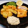 Fish and Chips  cu bere si sos tartar
