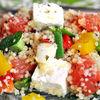 Salata de couscous cu grapefruit si feta