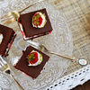 Prajitura/Tort cu ciocolata si capsuni
