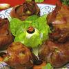 Saculeti de carne umpluti cu ciuperci