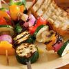 Ceafa la gratar cu garnitura de legume
