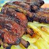 Coaste de porc BBQ... la cuptor