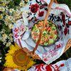 Salata cu cus-cus, rosii si porumb