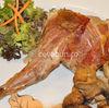 Friptura de iepure cu ciuperci in stil spaniol