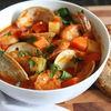 Sopa de Mariscos Spanish Seafood Soup