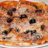 Pizza prosciutto e funghi (pizza cu sunca si ciuperci)