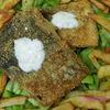 Peste in crusta de malai