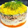 Salata ruseasca Mimoza