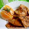Pui in sos de portocale cu rozmarin
