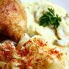 Friptura de pui cu sos cremos de ciuperci