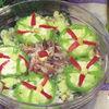 Salata cu macrou afumat si porumb