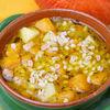 Ciorba de cartofi noi si legume