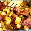 Friptura la cuptor cu cartofi aromati