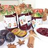 Gem exotic de prune cu nuca  si anason stelat
