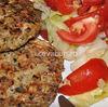Hamburgeri de pui cu ciuperci