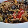 Taietei prajiti chinezesti cu vita - Chow mein (mien)