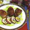 Rulada de porc umpluta cu radacinoase