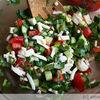 Salata cu telemea de oaie si macris