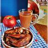Aripioare in marinata de suc de mere si cimbru
