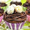 """Cupcakes """"Cuiburi cu oua"""" de Paste"""