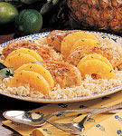 Piept de pui cu ananas si mandarine