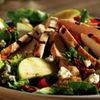 Salata din sunca de pui, mere si cidru